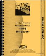 Operators Manual for Case 1845B Uniloader