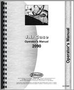 Operators Manual for Case 2090 Tractor