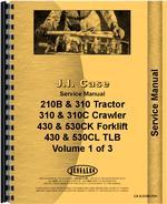 Service Manual for Case 210B Tractor Loader Backhoe