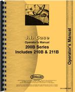 Operators Manual for Case 211B Tractor