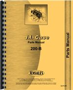 Parts Manual for Case 211B Tractor