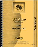 Parts Manual for Case 2390 Tractor