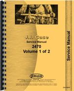 Service Manual for Case 2470 Tractor