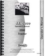 Operators Manual for Case 2590 Tractor