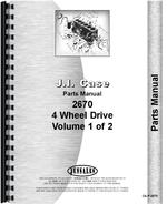 Parts Manual for Case 2670 Tractor