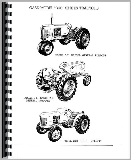 Parts Manual for Case 300 Tractor Sample Page From Manual