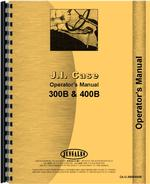 Operators Manual for Case 300B Tractor