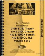 Service Manual for Case 310 Tractor Loader Backhoe