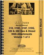 Service Manual for Case 310E Crawler