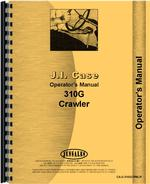 Operators Manual for Case 310G Crawler