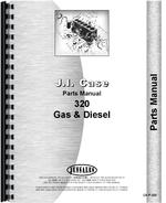 Parts Manual for Case 320 Industrial Tractor