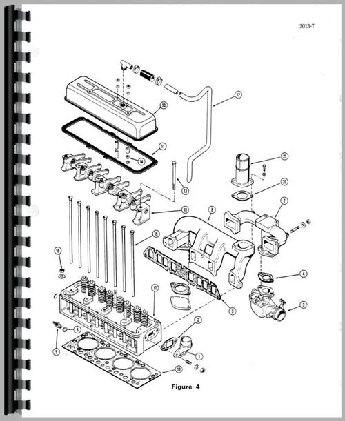 Service Manual for Case 320 Crawler Sample Page From Manual