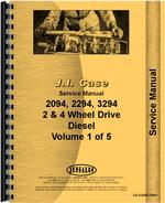 Service Manual for Case 3294 Tractor