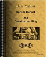 Service Manual for Case 380 Industrial Tractor
