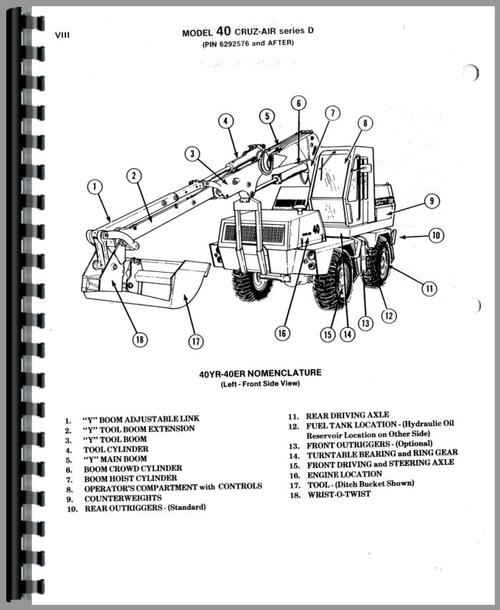 Case 40D Excavator Parts Manual Honda D Outboard Schematic Diagram on