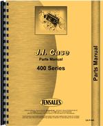 Parts Manual for Case 411 Tractor
