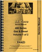 Service Manual for Case 411 Tractor