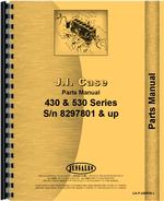 Parts Manual for Case 430 Tractor