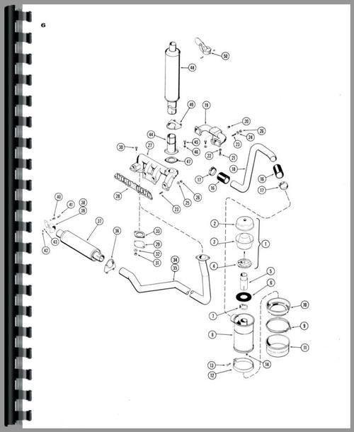 case 430 parts diagram