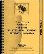 Parts Manual for Case 448 Lawn & Garden Tractor