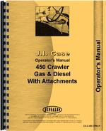 Operators Manual for Case 450 Crawler