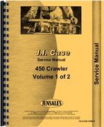 Service Manual for Case 450 Crawler