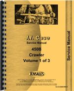 Service Manual for Case 450B Crawler