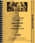 Service Manual for Case 455C Crawler