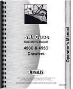 Operators Manual for Case 455C Crawler