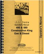 Operators Manual for Case 480 Industrial Tractor
