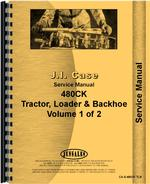 Service Manual for Case 480 Industrial Tractor
