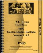 Service Manual for Case 480C Tractor Loader Backhoe