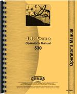 Operators Manual for Case 530 Tractor