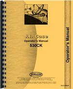 Operators Manual for Case 530 Industrial Tractor