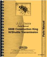 Parts Manual for Case 580B Industrial Tractor