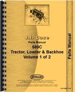 Parts Manual for Case 580C Tractor Loader Backhoe