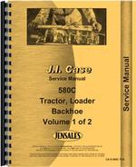 Service Manual for Case 580C Tractor Loader Backhoe
