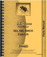 Parts Manual for Case 586C Forklift