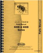 Parts Manual for Case 600B Tractor