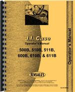 Operators Manual for Case 611B Tractor