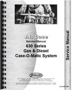 Service Manual for Case 630 Tractor