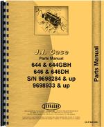 Parts Manual for Case 646 Lawn & Garden Tractor