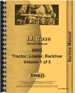 Service Manual for Case 680G Tractor Loader Backhoe
