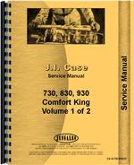 Service Manual for Case 740 Tractor