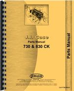 Parts Manual for Case 831 Tractor