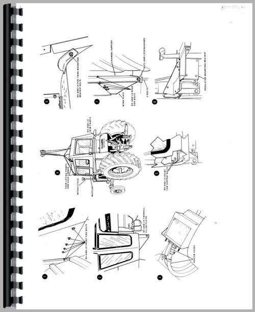 Service Manual for Case 842 Tractor Sample Page From Manual