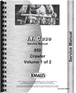 Service Manual for Case 850 Crawler