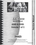 Service Manual for Case 850D Crawler