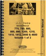 Service Manual for Case 880 Tractor