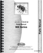 Parts Manual for Case 900 Tractor